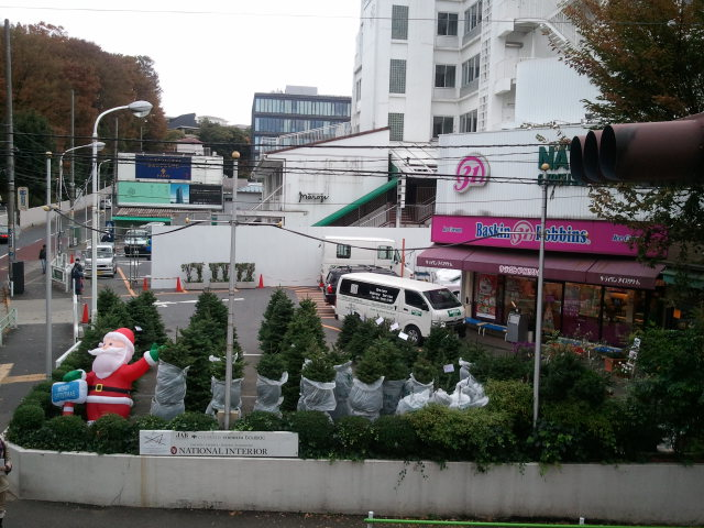 クリスマスツリー色々