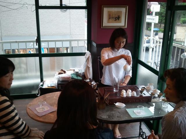 中国茶講習会開催